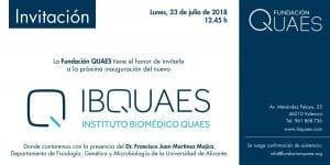INVITACIÓN A LA PRESENTACIÓN DE IBQUAES